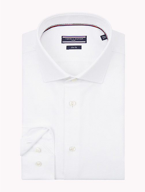 TOMMY HILFIGER Easy Iron Slim Fit Shirt - 100 - TOMMY HILFIGER Formal Shirts - main image