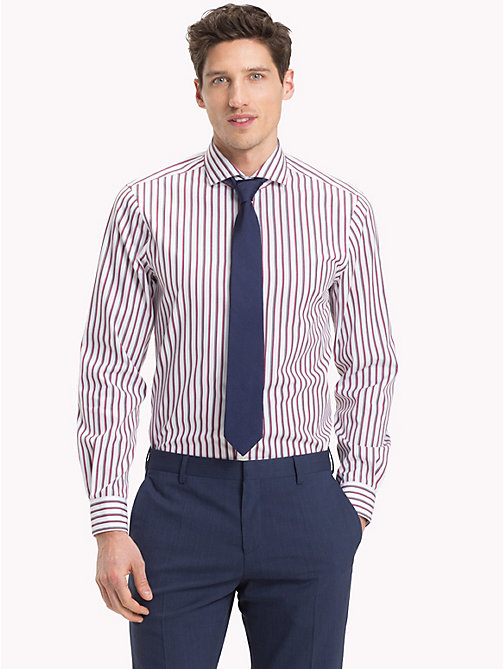 TOMMY HILFIGER Easy Iron Stripe Shirt - 616 - TOMMY HILFIGER Clothing - detail image 1