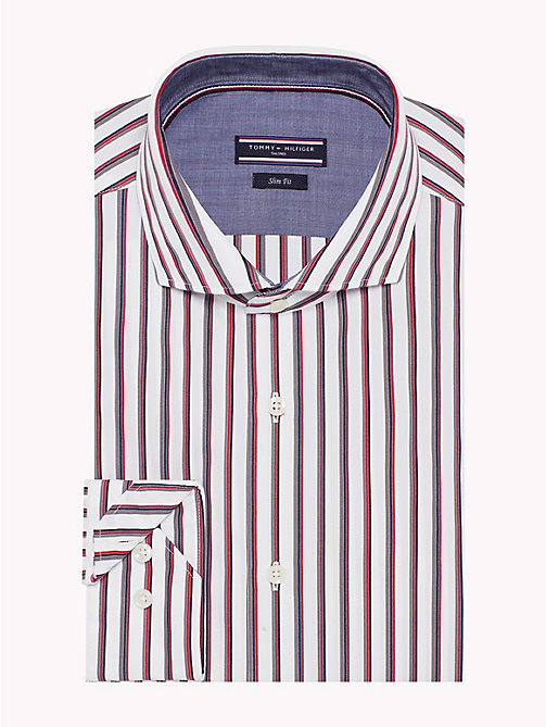TOMMY HILFIGER Easy Iron Stripe Shirt - 616 - TOMMY HILFIGER Formal Shirts - main image