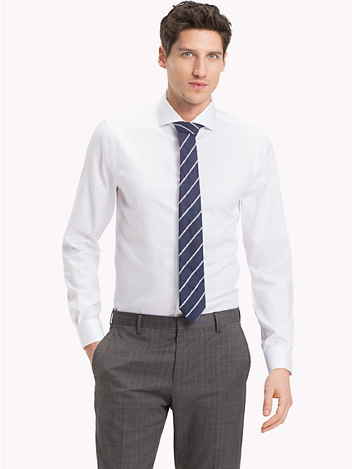 TOMMY HILFIGER Easy Iron Spread Collar Shirt - 100 - TOMMY HILFIGER Formal Shirts - detail image 1