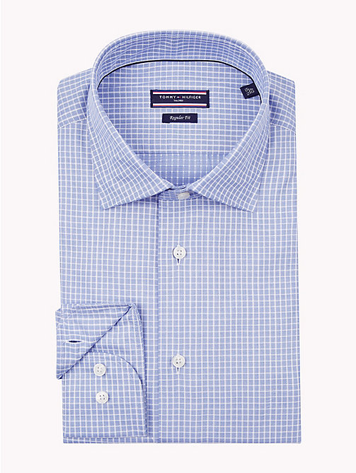 TOMMY HILFIGER Check Print Shirt - 425 - TOMMY HILFIGER Formal Shirts - main image