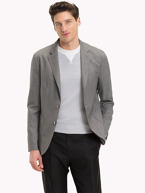 TOMMY HILFIGER Single-breasted blazer van zuiver scheerwol - 016 - TOMMY HILFIGER De beste outfits - main image