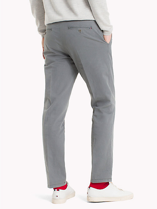 TOMMY HILFIGER Tapered Trousers - 016 - TOMMY HILFIGER Trousers - detail image 1