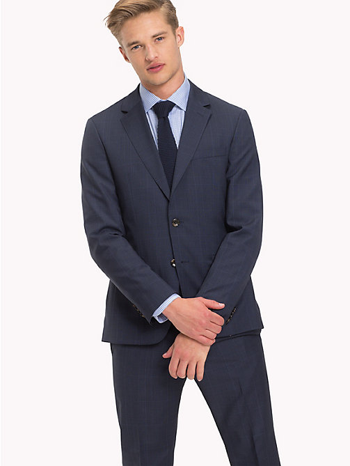TOMMY HILFIGER Check Suit Separate Blazer - 427 - TOMMY HILFIGER Suit Separates - main image