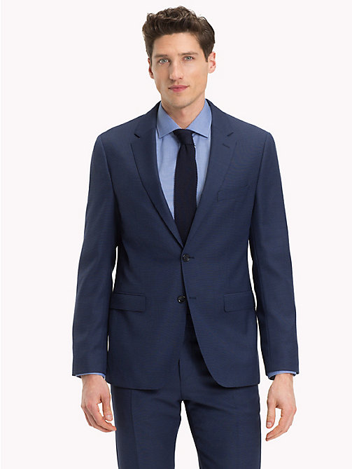 TOMMY HILFIGER Micro Knit Slim Fit Blazer - 425 - TOMMY HILFIGER Clothing - main image