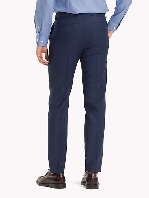 TOMMY HILFIGER Virgin Wool Slim Fit Suit Trousers - 425 - TOMMY HILFIGER Men - detail image 1