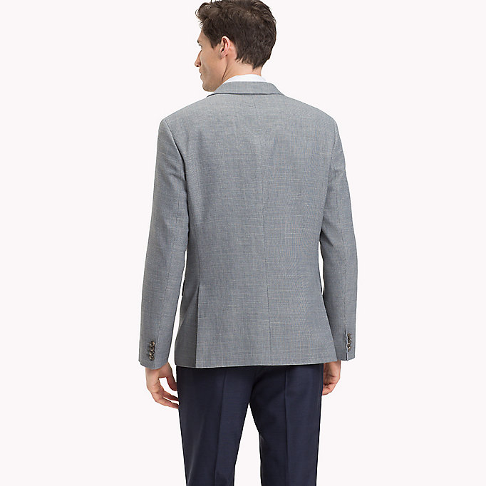 TOMMY HILFIGER Fitted Two-Button Suit Blazer - 215 - TOMMY HILFIGER Men - detail image 1