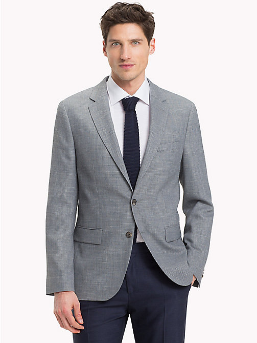 TOMMY HILFIGER Fitted Two-Button Suit Blazer - 010 - TOMMY HILFIGER Suits & Tailored - main image
