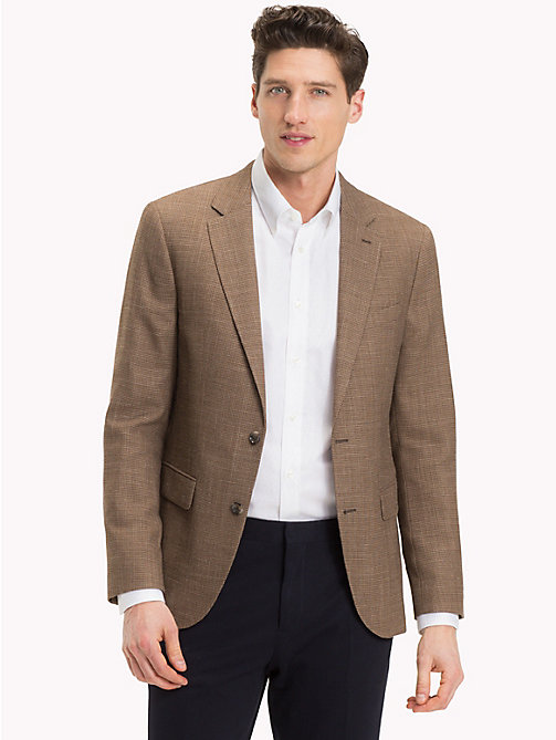 TOMMY HILFIGER Fitted Two-Button Suit Blazer - 215 - TOMMY HILFIGER What to Wear - main image