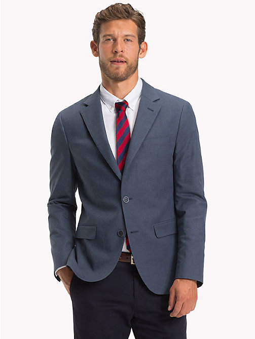 TOMMY HILFIGER Single-breasted blazer - 422 - TOMMY HILFIGER Blazer - main image