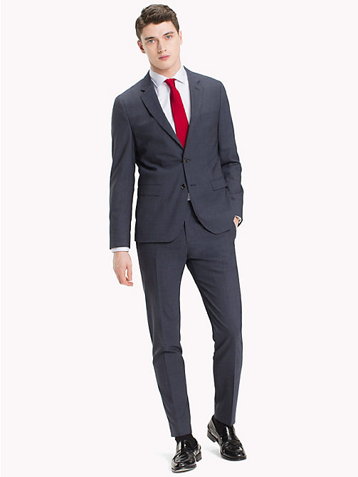 TOMMY HILFIGER Slim Fit Wool Suit - 427 - TOMMY HILFIGER Clothing - main image