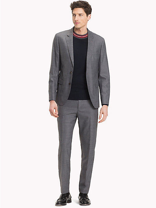 TOMMY HILFIGER Virgin Wool Blend Slim Suit - 020 - TOMMY HILFIGER Fitted - main image