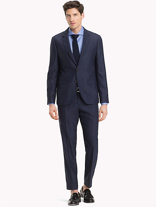 TOMMY HILFIGER Virgin Wool Blend Slim Suit - 427 - TOMMY HILFIGER Fitted - main image