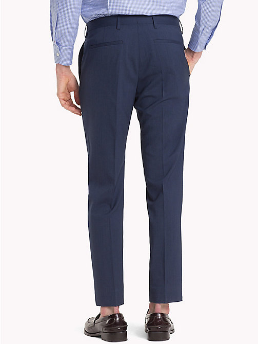 TOMMY HILFIGER Stretch Virgin Wool Trousers - 427 - TOMMY HILFIGER Black Friday Men - detail image 1
