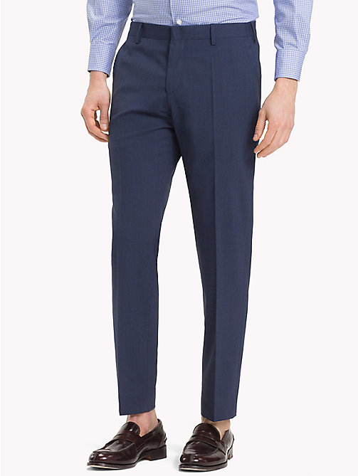 TOMMY HILFIGER Stretch Virgin Wool Trousers - 427 - TOMMY HILFIGER Trousers & Shorts - main image