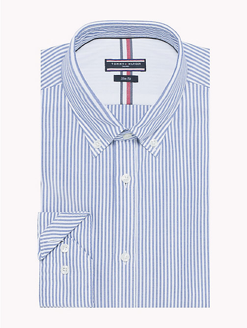 TOMMY HILFIGER Stripe Slim Fit Shirt - 417 - TOMMY HILFIGER Formal Shirts - main image