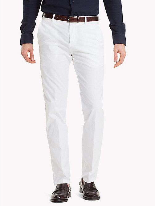 TOMMY HILFIGER Slim Fit Trousers - 100 - TOMMY HILFIGER What to Wear - main image