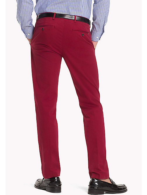TOMMY HILFIGER Slim Fit Trousers - 618 - TOMMY HILFIGER Trousers - detail image 1