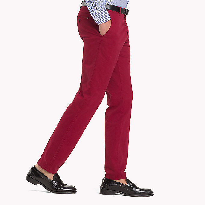 TOMMY HILFIGER Slim Fit Trousers - 801 - TOMMY HILFIGER Men - detail image 2