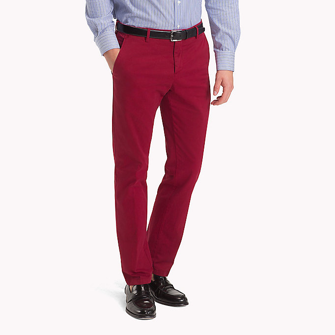 TOMMY HILFIGER Slim Fit Trousers - 801 - TOMMY HILFIGER Men - main image