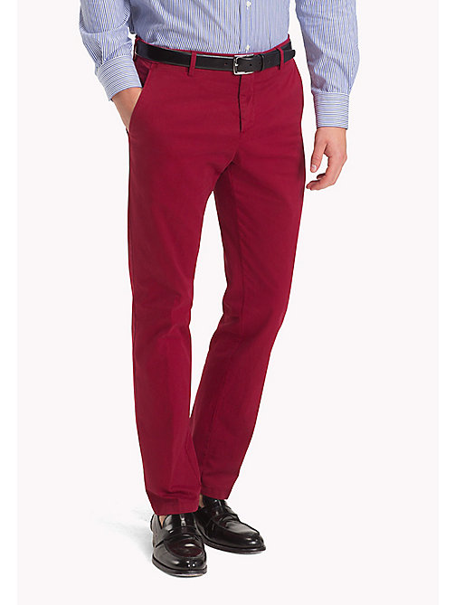 TOMMY HILFIGER Slim Fit Trousers - 618 - TOMMY HILFIGER Trousers - main image