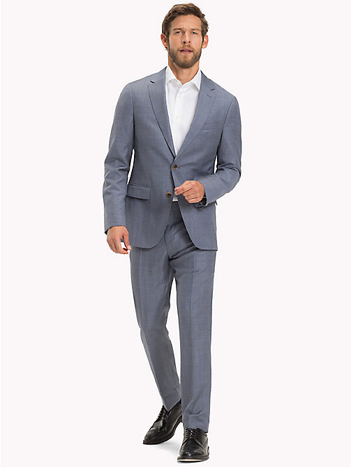 TOMMY HILFIGER Virgin Wool Fitted Suit - 418 - TOMMY HILFIGER Clothing - main image