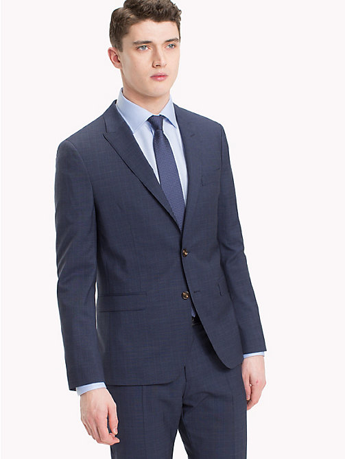 TOMMY HILFIGER Woven Check Virgin Wool Jacket - 427 - TOMMY HILFIGER Suit Separates - main image