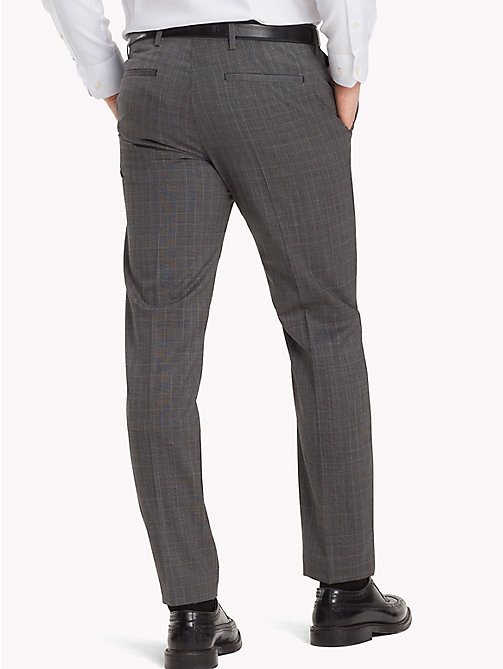 TOMMY HILFIGER Slim Fit Virgin Wool Suit Trousers - 020 - TOMMY HILFIGER Formal Trousers - detail image 1