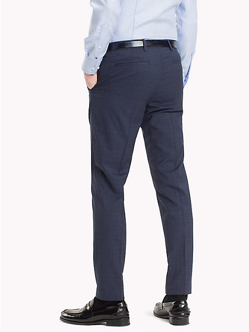 TOMMY HILFIGER Slim Fit Virgin Wool Suit Trousers - 427 - TOMMY HILFIGER Clothing - detail image 1