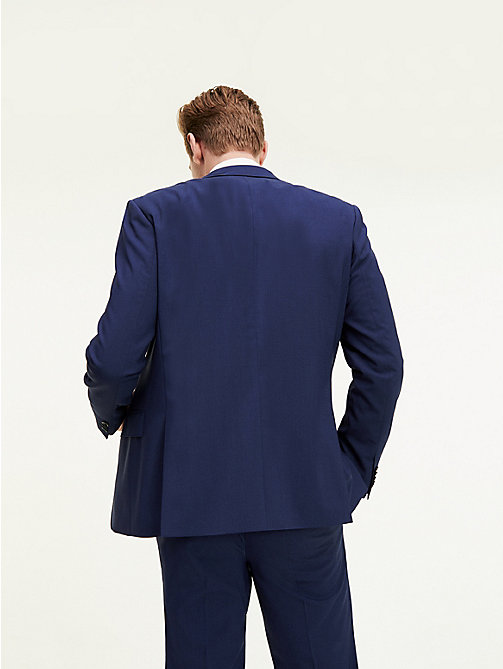 TOMMY HILFIGER Tailored Virgin Wool Jacket - 420 - TOMMY HILFIGER Suit Separates - detail image 1