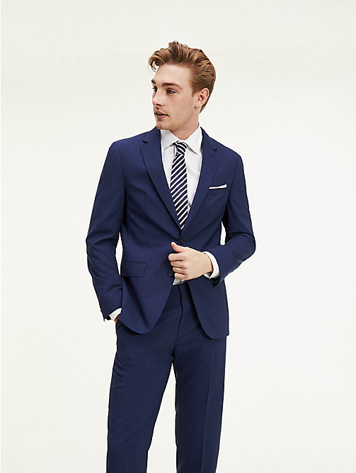 TOMMY HILFIGER Tailored Virgin Wool Jacket - 420 - TOMMY HILFIGER Suit Separates - main image