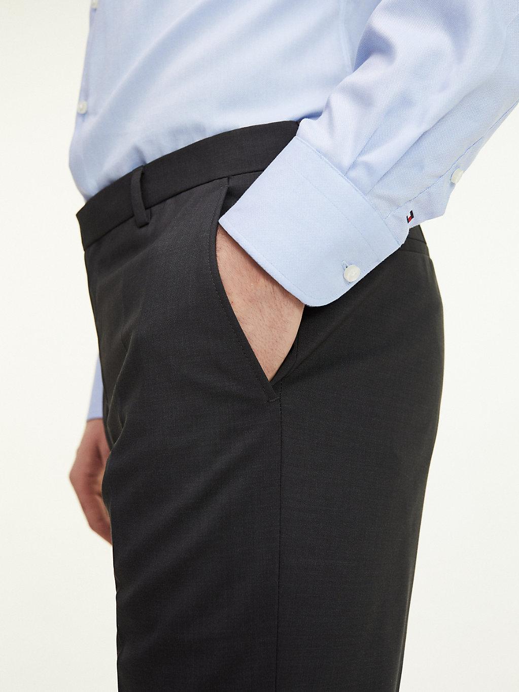 Tommy Hilfiger - Pantalón de traje con corte regular - 4