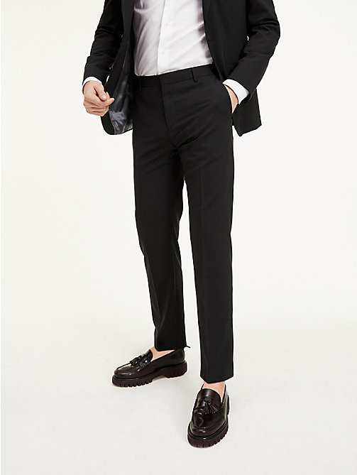 TOMMY HILFIGER Suit Separate Regular Fit Trousers - 099 - TOMMY HILFIGER Suit Separates - detail image 1