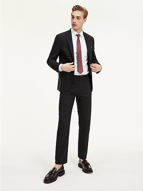 TOMMY HILFIGER Suit Separate Regular Fit Trousers - 099 - TOMMY HILFIGER Suit Separates - main image