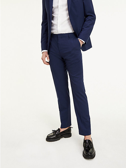 TOMMY HILFIGER Suit Separate Regular Fit Trousers - 420 - TOMMY HILFIGER Suit Separates - detail image 1