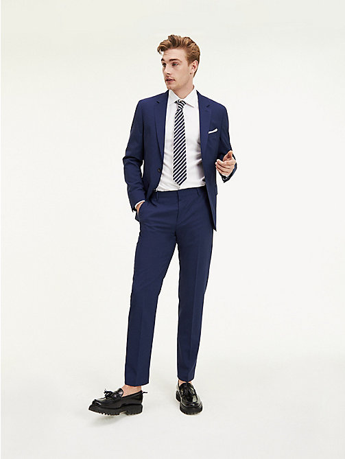 TOMMY HILFIGER Suit Separate Regular Fit Trousers - 420 - TOMMY HILFIGER Suit Separates - main image