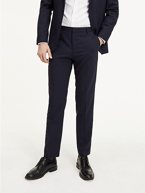 TOMMY HILFIGER Suit Separate Regular Fit Trousers - 427 - TOMMY HILFIGER Suit Separates - detail image 1