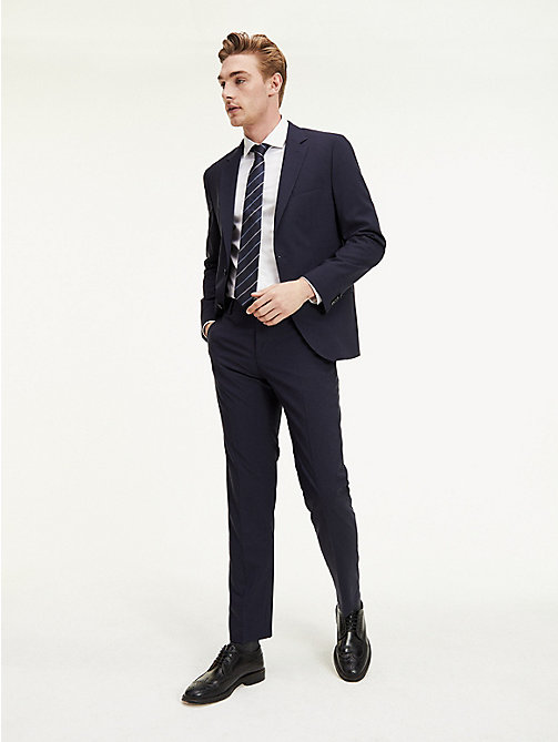 TOMMY HILFIGER Suit Separate Regular Fit Trousers - 427 - TOMMY HILFIGER Suit Separates - main image