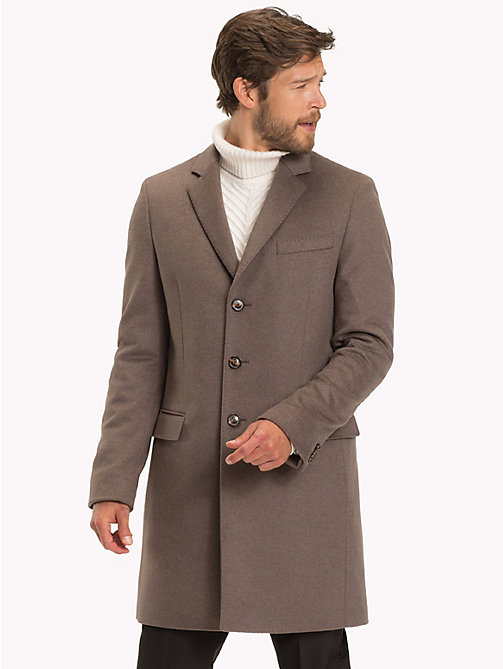 TOMMY HILFIGER Classic Wool Blend Coat - 227 - TOMMY HILFIGER Coats - main image
