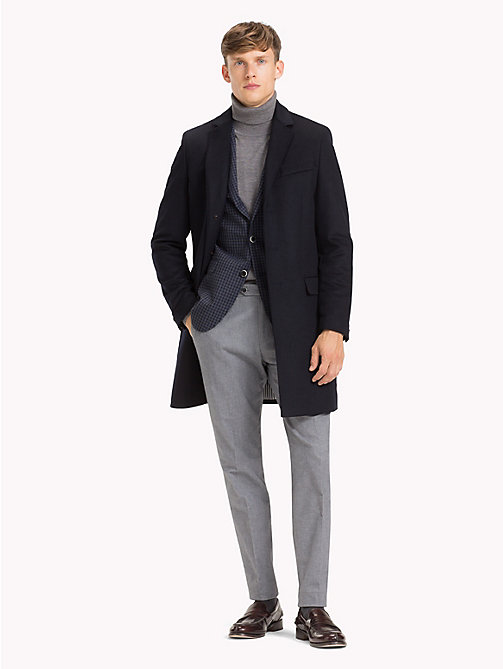 TOMMY HILFIGER Classic Wool Blend Coat - 429 - TOMMY HILFIGER Suits & Tailored - detail image 1