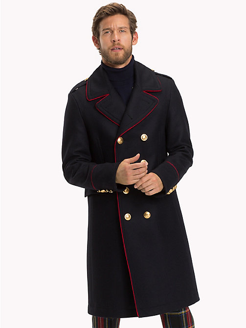 TOMMY HILFIGER Wool Blend Military Coat - 429 - TOMMY HILFIGER Coats - main image