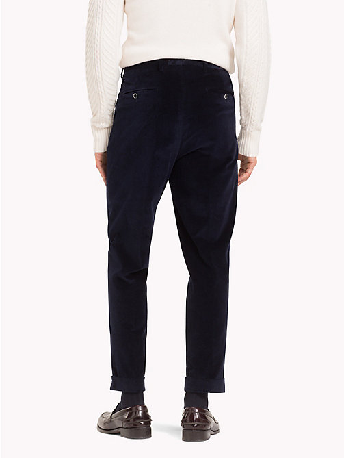 TOMMY HILFIGER Corduroy Stretch Cotton Trousers - 427 - TOMMY HILFIGER Formal Trousers - detail image 1