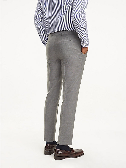 TOMMY HILFIGER Virgin Wool Trousers - 015 - TOMMY HILFIGER Suits & Tailored - detail image 1