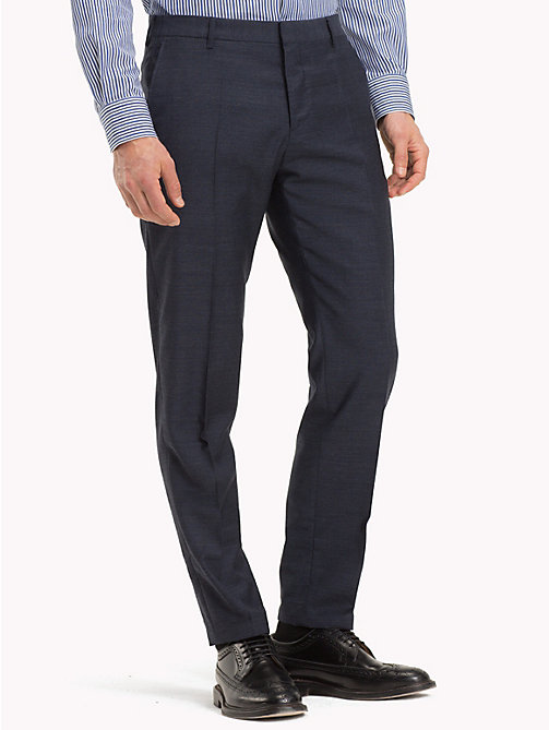 TOMMY HILFIGER Virgin Wool Trousers - 429 - TOMMY HILFIGER Części Garnituru - main image