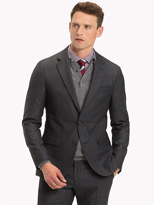 TOMMY HILFIGER Virgin Wool Blazer - 027 - TOMMY HILFIGER Suit Separates - main image