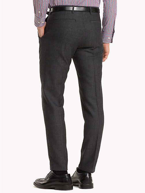 TOMMY HILFIGER Virgin Wool Suit Trousers - 027 - TOMMY HILFIGER NEW IN - detail image 1