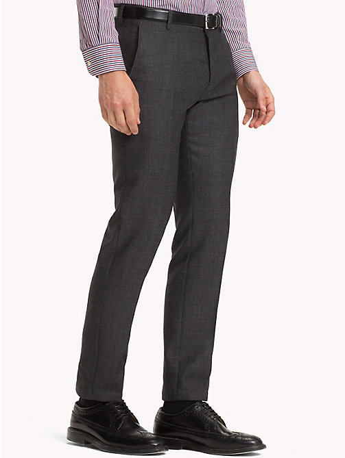 TOMMY HILFIGER Virgin Wool Suit Trousers - 027 - TOMMY HILFIGER NEW IN - main image