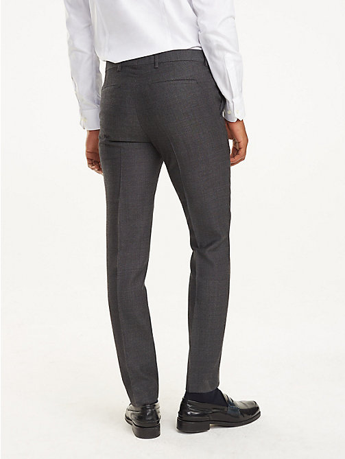 TOMMY HILFIGER Slim Fit Suit Trousers - 027 - TOMMY HILFIGER Trousers & Shorts - detail image 1