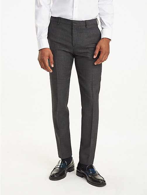 TOMMY HILFIGER Slim Fit Suit Trousers - 027 - TOMMY HILFIGER Trousers & Shorts - main image