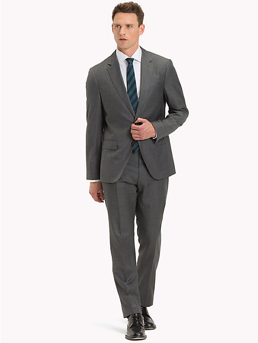 TOMMY HILFIGER Two Piece Virgin Wool Suit - 026 - TOMMY HILFIGER Clothing - main image